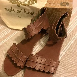Leather Handmade Elf Bali Midsummer Sandals Sz. 10